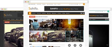 sahifa theme video sahifa theme responsive wordpress news magazine blog
