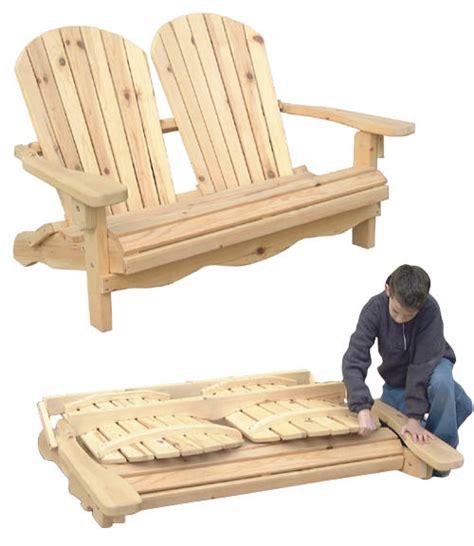 folding adirondack loveseat plans   buy wood