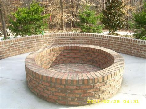Firepit Bricks 25 Best Ideas About Brick Pits On Pits Square Pit And Pits
