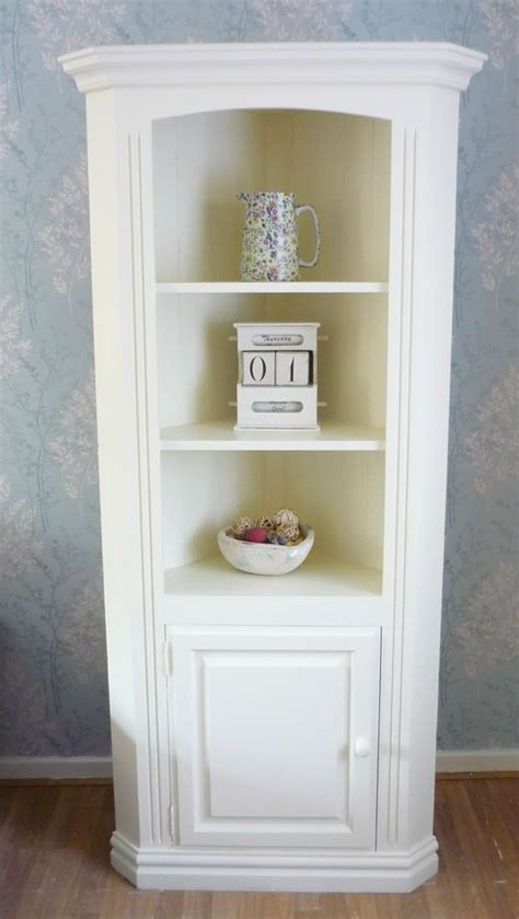 Corner Dresser Furniture by Gorgeous Chunky Pine Corner Dresser Cabinet Painted In