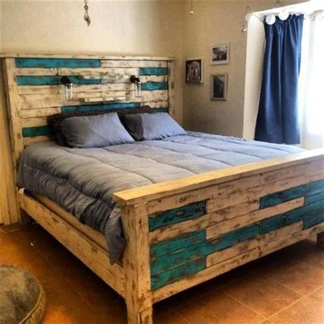 diy wooden pallet bed frame 40 creative wood pallet bed design ideas bed frame design pallet bed frames and diy recycle