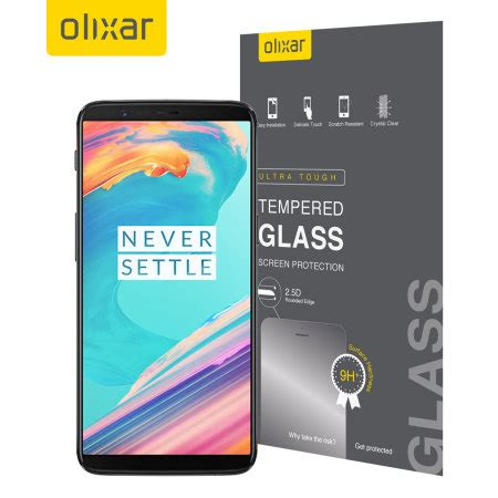 Tempered Glass Oneplus 5 5t Back Pro olixar oneplus 5t tempered glass screen protector reviews