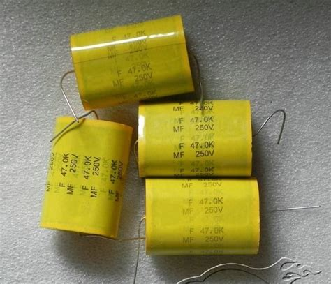 capacitor low frequency 250v47uf polyester capacitors low frequency division capacitance for farad ebay