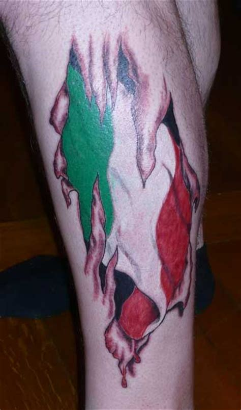 italian flag tattoos showing your heritage 171 connection
