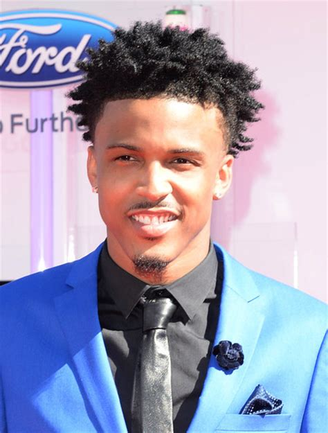 august alsina haircut august alsina photos photos bet awards 14 arrivals