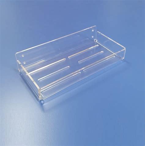 mensole in plexiglass su misura mensole in plexiglass trasparente realizzate su misura