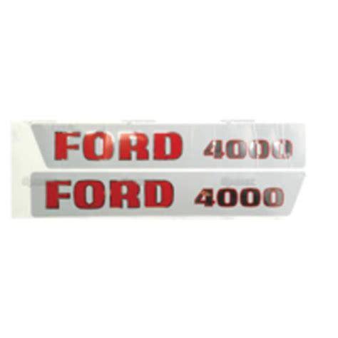 Ford Aufkleber Motorhaube by Schlepper Teile 187 Shop Kabinen Blechteile Motorhauben