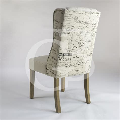 script dining chair canada egb75 s new henley script upholstered linen dining chair