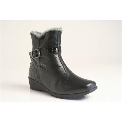 josef seibel boots josef seibel bliss boot in black topdry tex water