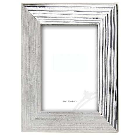 cornici in argento cornice wood in argento 925 emozionidargento