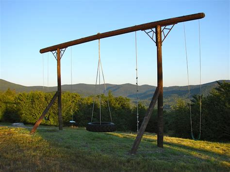 swing pole pieced pastimes summer on the mountain