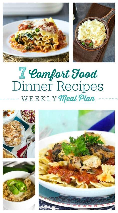comfort dinner ideas weekly meal plan 4 comfort food pineapple desserts