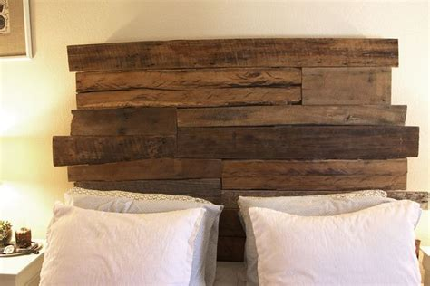 headboards made from old barn wood rustic headboard things i want to make pinterest
