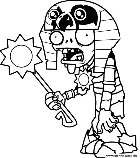 printable coloring pages plants vs zombies egypt plants vs zombies coloring pages printable