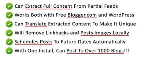 best autoblogging software auto blogging software gentleninja