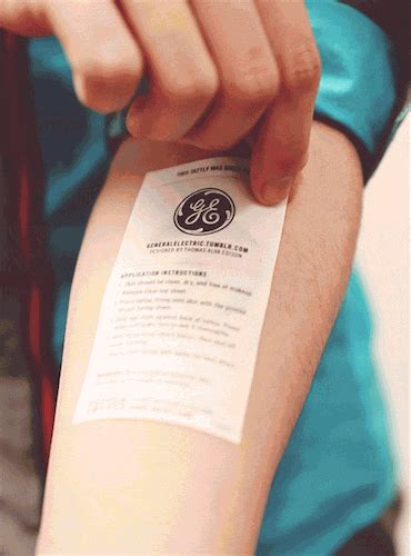 thomas edison tattoo general electric gif find on giphy