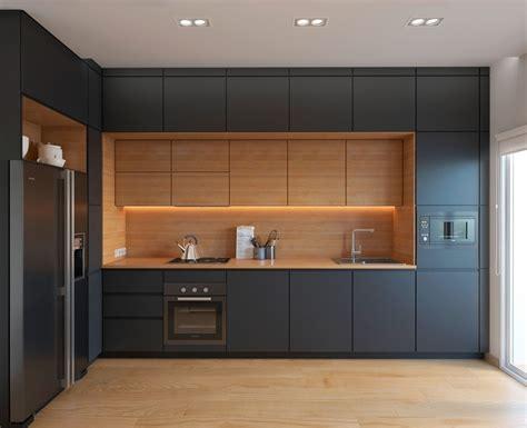 l designers cucine moderne bianche e nere