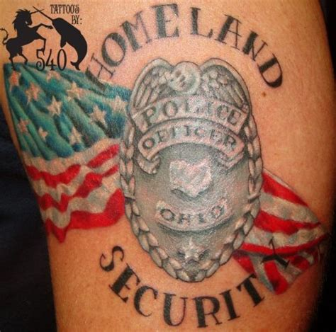 police badge tattoo badge cool tattoos