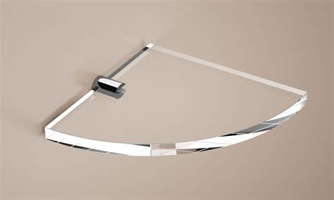 mensola angolare mensola angolare accessori bagno in plexiglass arte