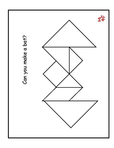 printable tangram puzzle outlines best 25 tangram printable ideas on pinterest tanagram