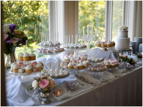 Dessert Table by Cake And Cake Balls Display Idea Wedding Ideas For