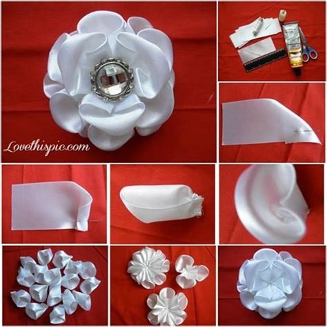 crafts at home diy jeweled flower pictures photos and images for