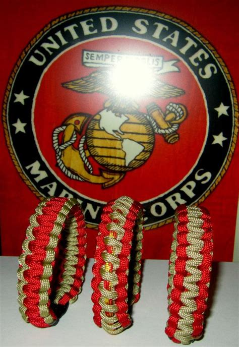 marine corp colors us marine corps colors survival bracelet gamer wristband