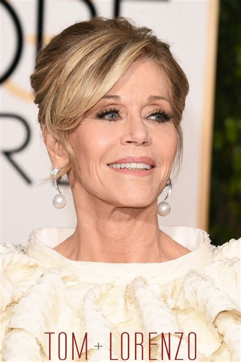 Golden Globes: Jane Fonda in Saint Laurent Couture   Tom