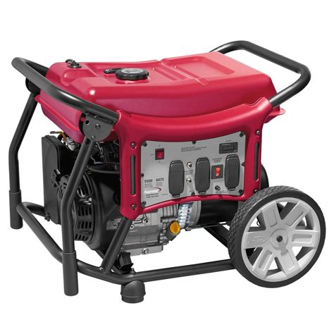 powermate cx series 5 500 watt gasoline powered recoil