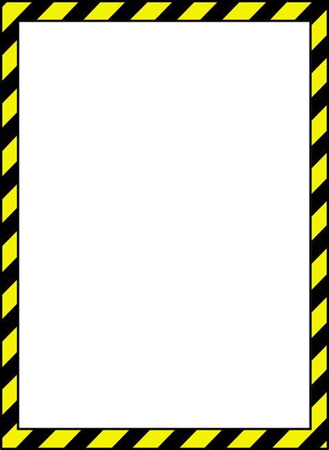 border clipart caution border clip 23