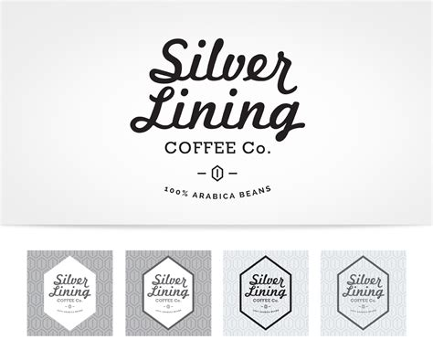 designcrowd branding logo design by aftrmidnite for silver lining coffee co