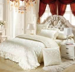 luxury silk cotton jacquard king size wedding