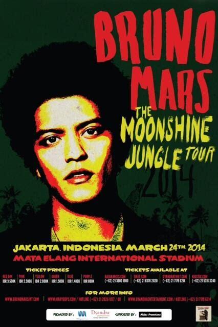 biography bruno mars bahasa indonesia bruno mars the moonshine jungle tour 2014 jakarta wisata