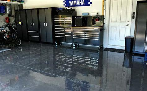 Garage Bausatz Massiv by A Rocksolid Metallic Garage Floor Coating Project All