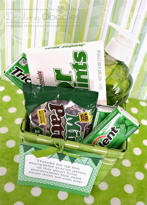 doodle gift ideas mint gift basket idea from doodles gift ideas