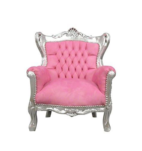 poltrona barocco poltrona barocco rosa e argento sedie e arredamento deco