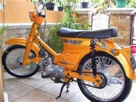 Modifikasi Honda Kalong by Modifikasi Honda C70 Classic Cup Myotomotif