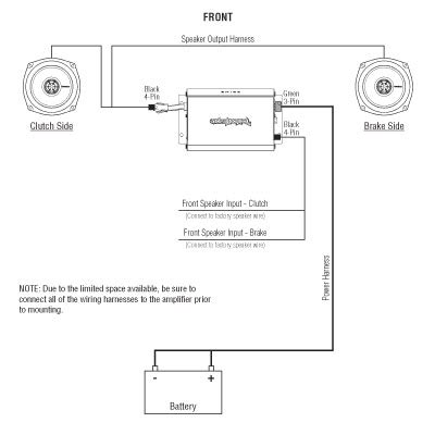 rockford fosgate car stereo wiring diagram wiring diagrams