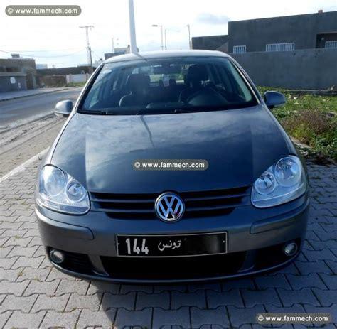 Auto Golf 5 Diesel by Voitures Tunisie Nabeul Golf 5 Diesel 1 9 Confortline