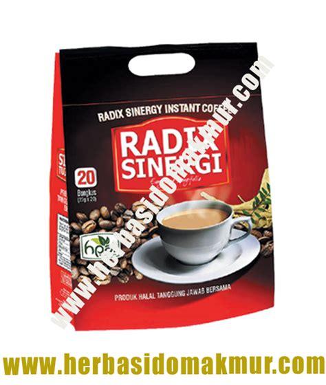 Kopi Radix Sinergi Sachet testimoni produk hpai kopi radix sinergi