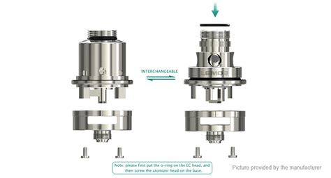 Authentic Eleaf Lyche Rta Ss Limited 25 75 authentic eleaf lemo 3 rta sub ohm tank clearomizer 4ml 0 3ohm 304 stainless steel