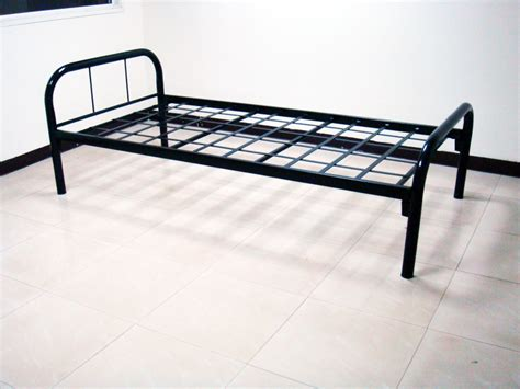 flatbed headboard black painted wrought iron flat bed frame with black pipe
