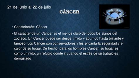 cancer caractersticas del signo zodiacal cncer de signos zodiacales