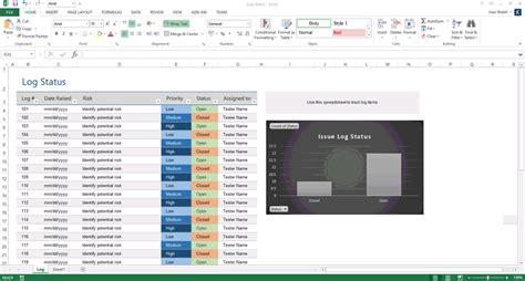 software test report template xls testing status report