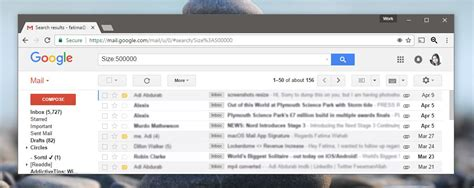 How To Search For Emails On Gmail How To Search For Emails By Size In Gmail