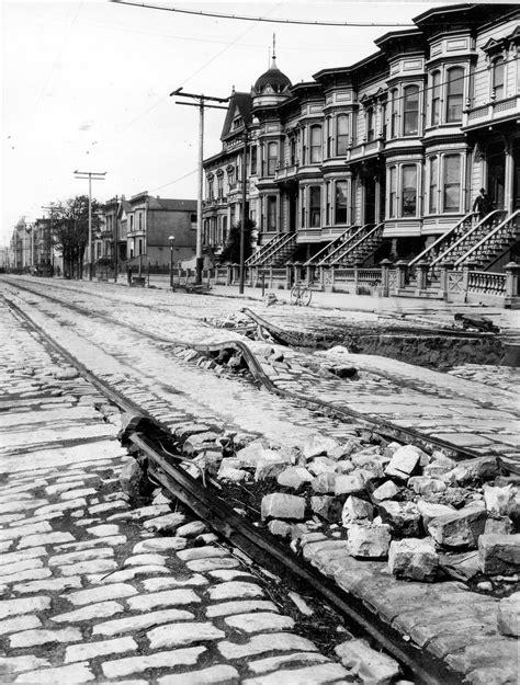 earthquake of 1906 file aftermath of the 1906 san francisco earthquake street