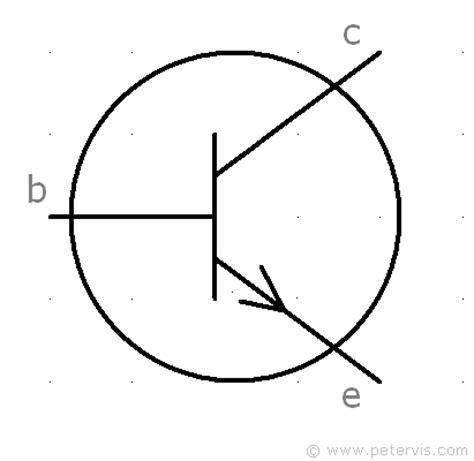 bc548 transistor symbol transistor symbol