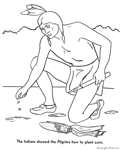 coloring pages for the first thanksgiving origin of the first thanksgiving coloring pages 009