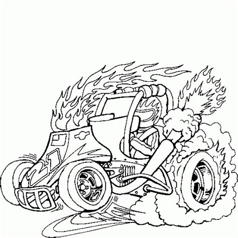flag coloring pages with dune buggy coloring pages