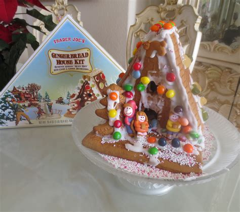 buy a gingerbread house kit trader joe s gingerbread house kit the ranch on silver creek